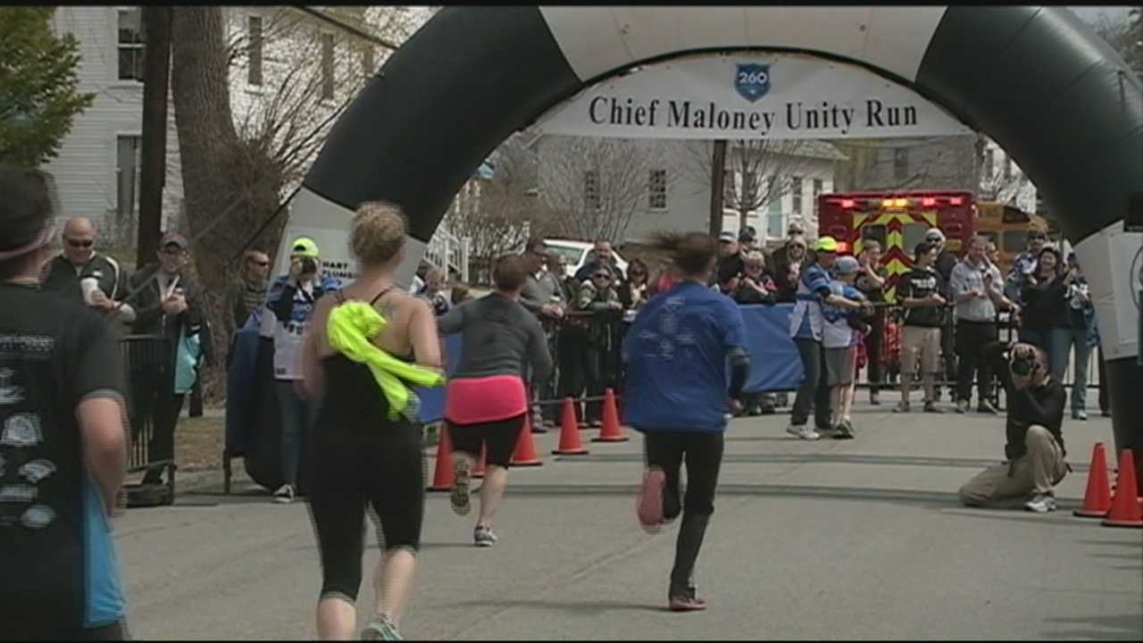 The deep appreciation many people have for Michael Maloney, the beloved Greenland police chief who was shot and killed in the line of duty three years ago, was apparent when more than 1,000 people came together for the fourth annual Chief Maloney Unity Run on Sunday.