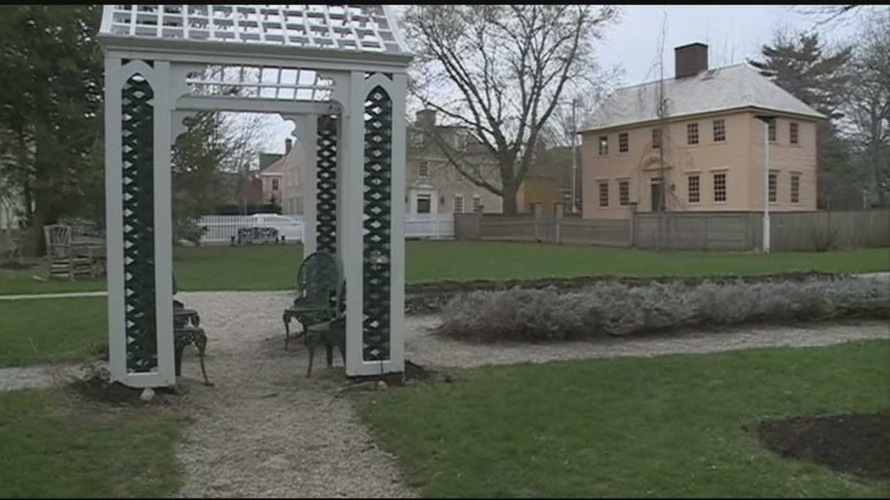 Chief Meteorologist Mike Haddad is at Strawbery Banke, which will open for the season May 1.