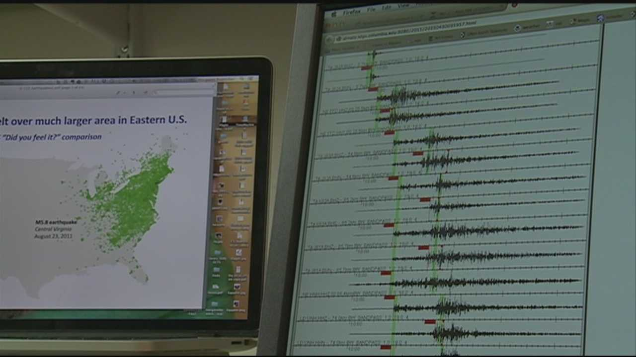 Granite Staters in parts of the state have been shaken by two small earthquakes in the past two days.