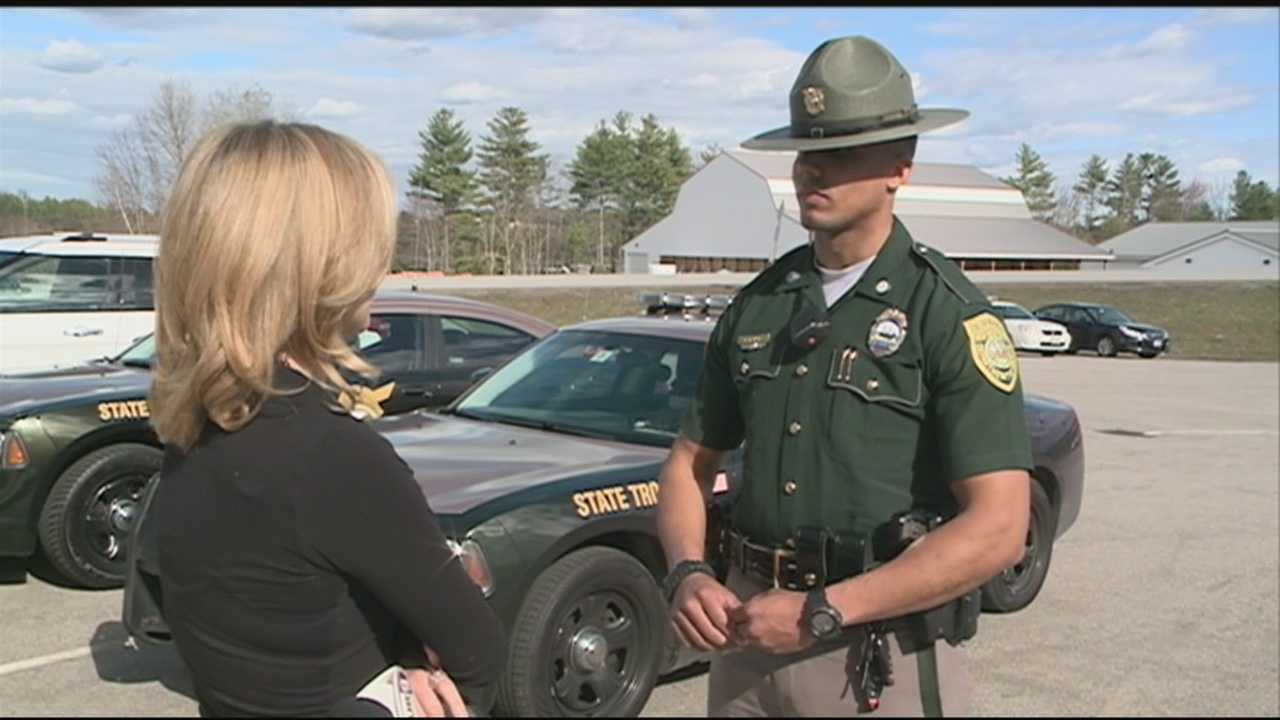 The trooper who stopped to help a driver with a flat tire and says he was pushed into the high speed lane of I-93 Monday says it could have turned out a lost worse than it did. WMUR's Stephanie Woods has more.