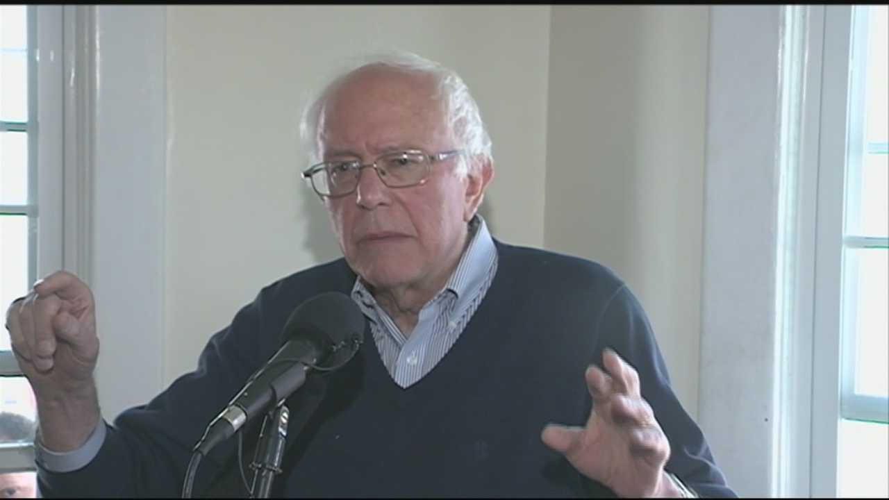U.S. Sen. Bernie Sanders returned to New Hampshire Saturday for the first time since he formally announced his run for president.