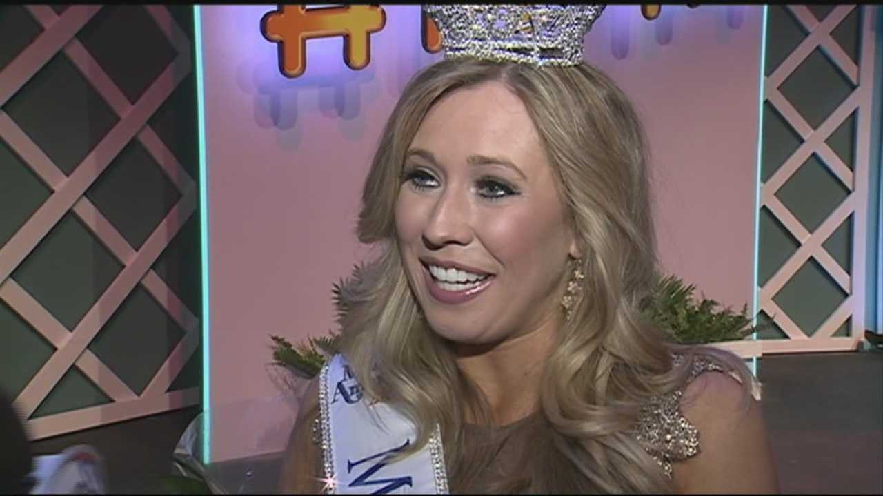 Miss Rockingham County and former WMUR sports intern Holly Blanchard is the new Miss New Hampshire.