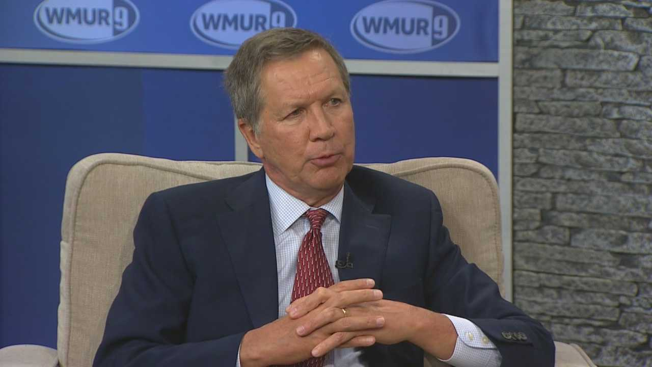 Potential Republican presidential candidate John Kasich joins Josh McElveen for the Conversation with the Candidate series (Part 1).