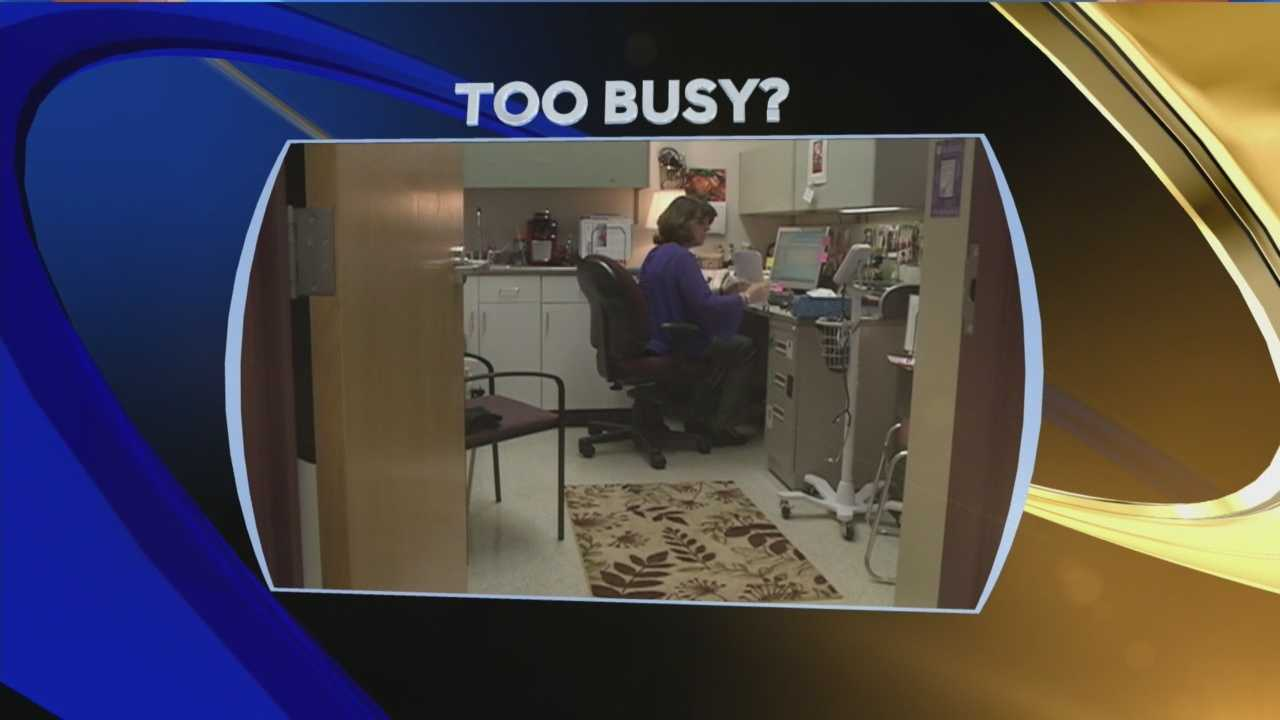 A woman from Nashua is warning about the dangers of leading a busy life, saying that her busy schedule led to a heart attack. WMUR's Kristen Carosa has more.