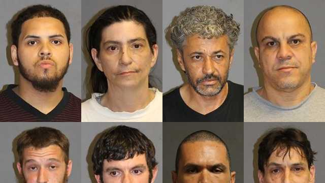 Nashua police have arrested eight people accused of selling drugs in the Gate City.