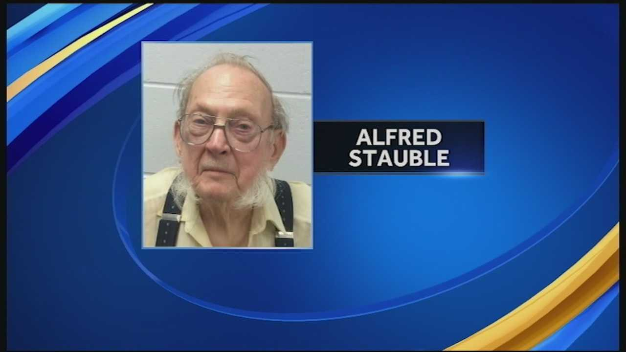 Police seized a half-dozen guns from an 85-year-old man's home after he held them at bay for several hours over the weekend.