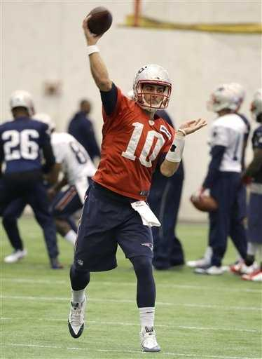 Garoppolo was the highest-drafted quarterback New England had selected since Drew Bledsoe was picked first overall in 1993.