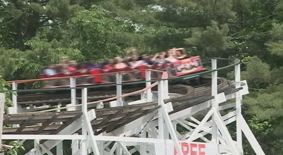 Like the 85-year-old Yankee Cannonball wooden roller coaster, and the park continues to grow.