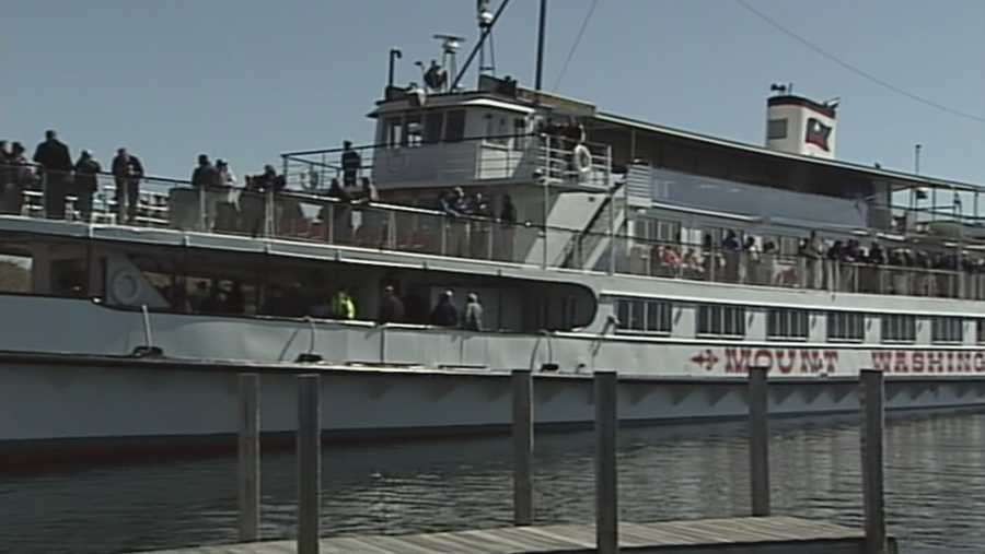 You can buy one ticket to ride the rails and sail on the MV Mount Washington.
