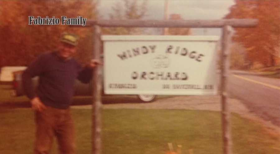 The Windy Ridge Orchard in North Haverhill was starting to grow in 1985.