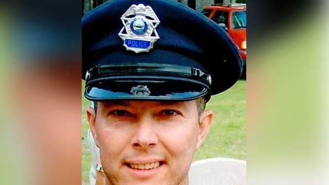 Brentwood Police Officer Stephen Arkell was shot and killed before an explosion tore through a Brentwood home in May 2014.
