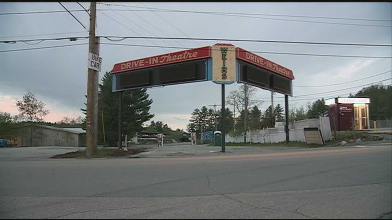 The Weirs Beach Drive-In will open for the season in a few days, but the owner is putting it up for sale. WMUR's Jean Mackin reports.