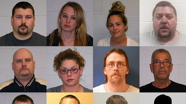 Franklin police have arrested four alleged drug dealers as part of a city-wide drug sweep. Police said eight others were arrested in connection with the investigation.
