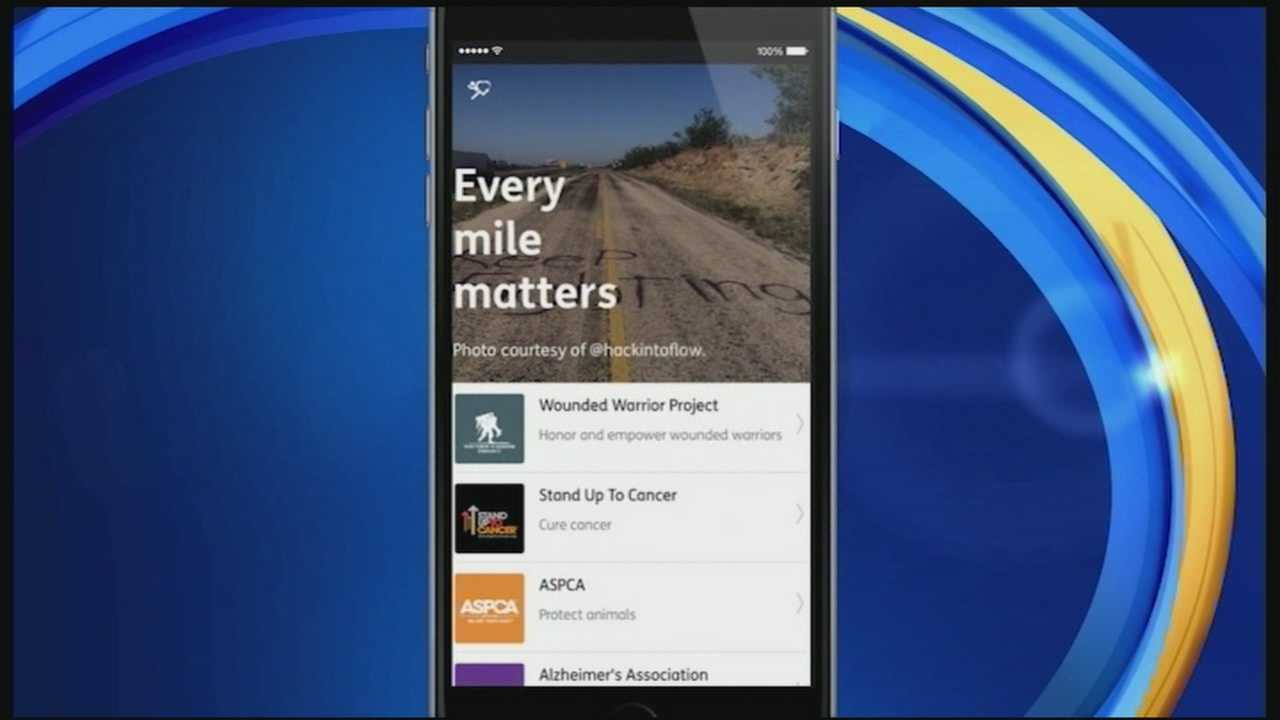 What if your daily workout could benefit not just you but others in need? In today's Tech Talk, we show you an app that turns the miles you walk, run or bike into charitable donations.