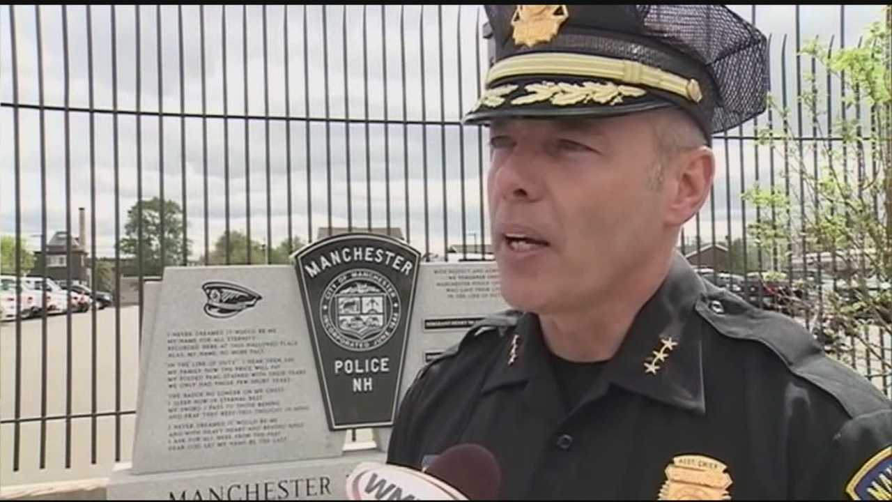 The man tabbed to become Manchester's next police chief says he's honored by the confidence being placed in him by Queen City Mayor Ted Gatsas.