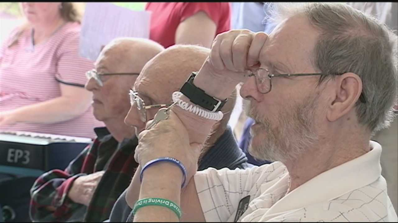 More than 100 people gathered on Monday at the New Hampshire Veteran's Home in Tilton to remember the sacrifices of those who gave their lives in the service of our country.