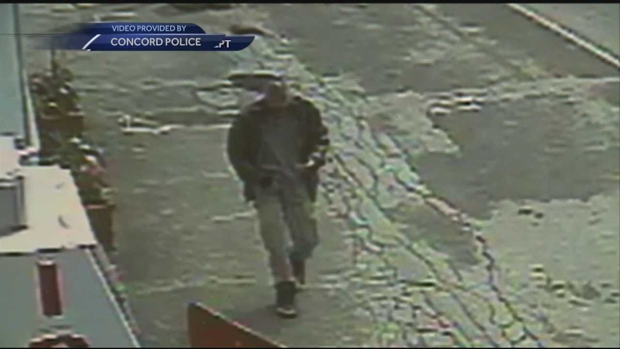 Police in Concord said they are searching for a man who might have pointed a handgun at two teenage boys last week.