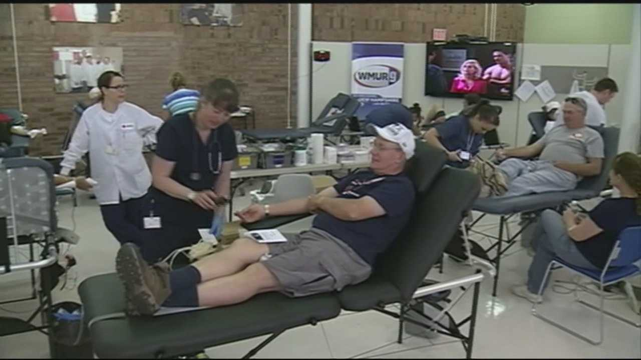 Granite Staters have responded to a call for blood donations in WMUR's statewide blood drive.