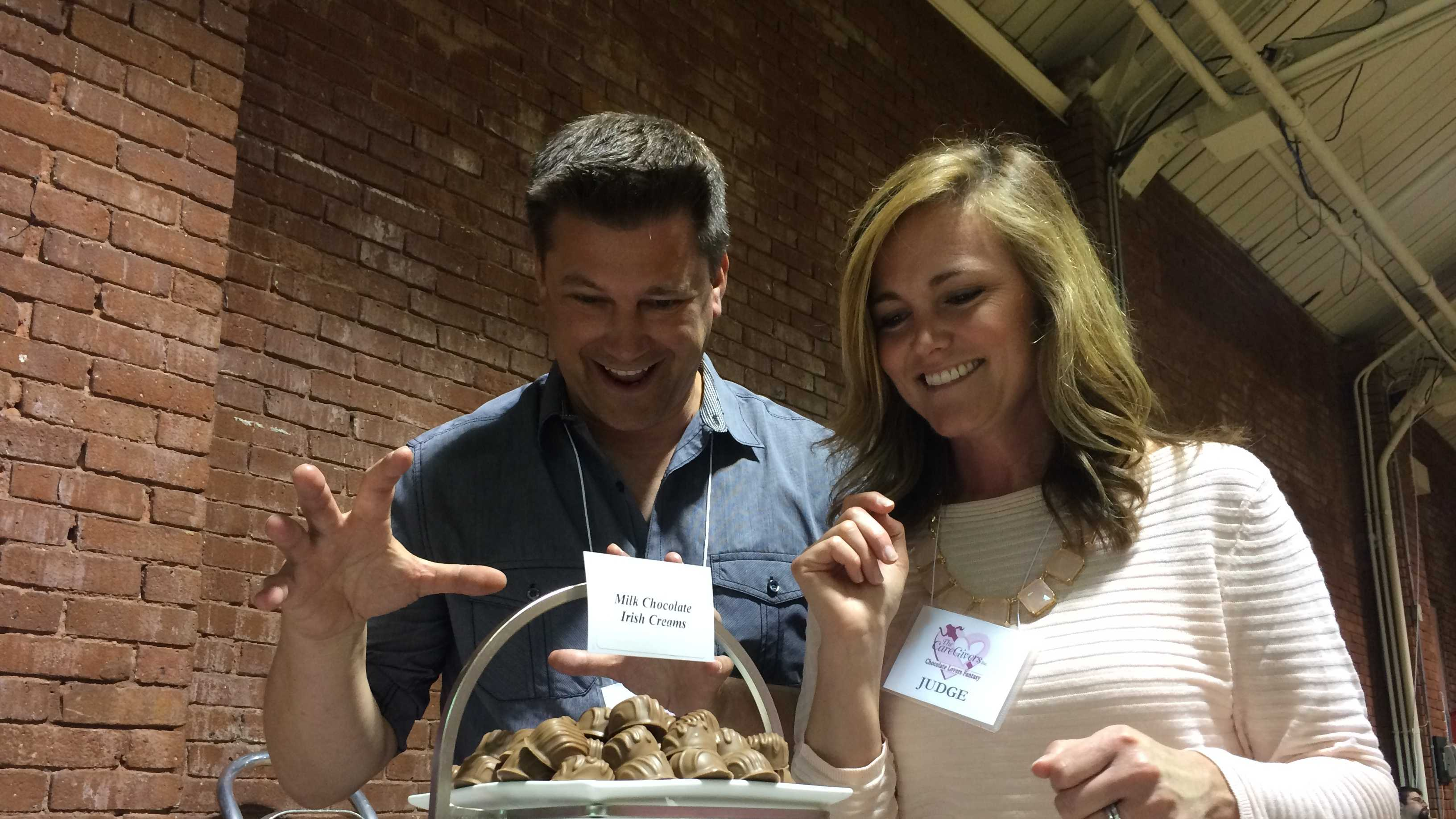 Chocolate enthusiasts gathered in Manchester Sunday for a sweet cause. The 13th annual Chocolate Lovers Fantasy drew hundreds of people to the Radisson Hotel.