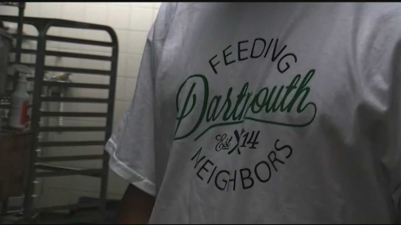 Some Dartmouth College students are doing their part to make sure no food goes to waste.