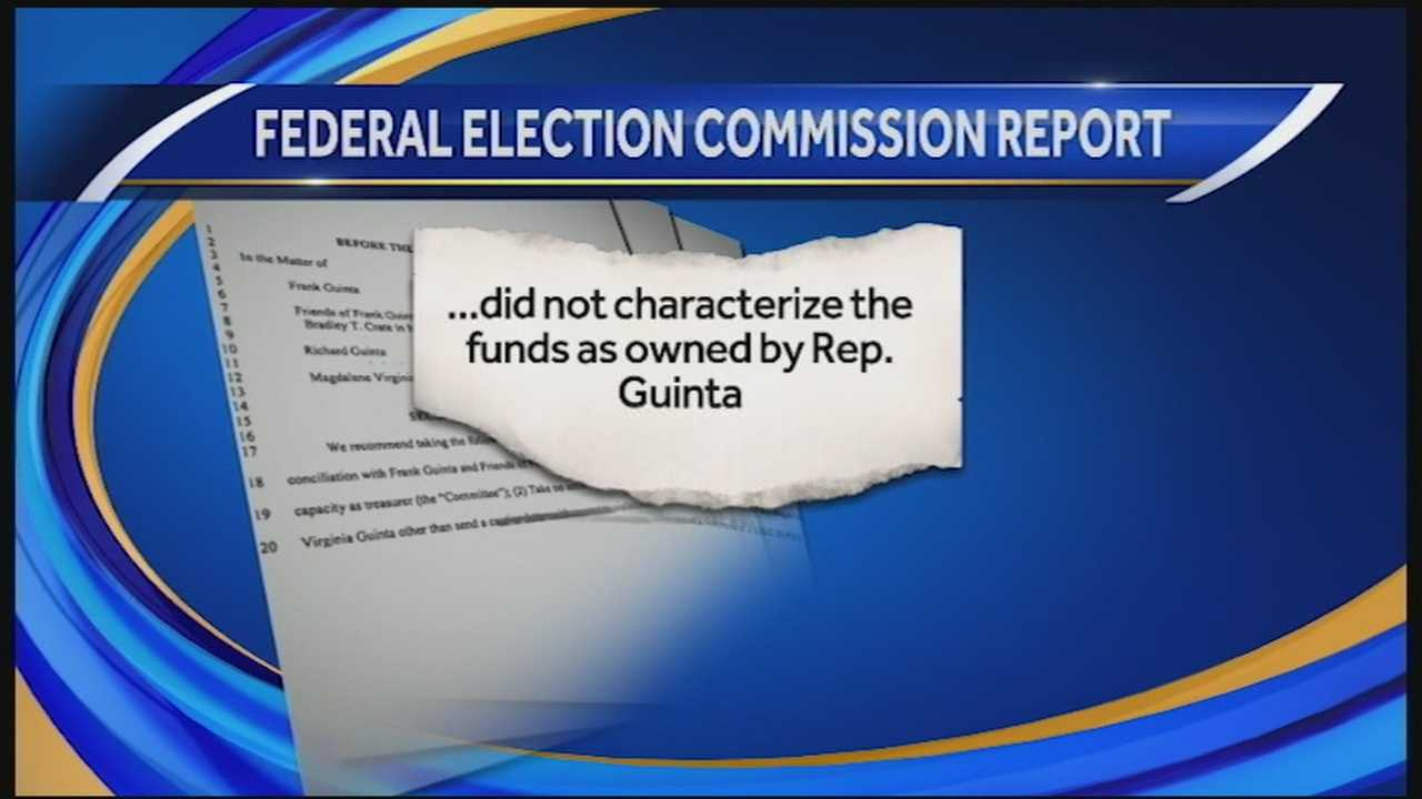 The FEC report casts doubt on Guinta's ongoing claims that hundreds and thousands of dollars donated to his campaign from accounts belonging to his parents was actually his money
