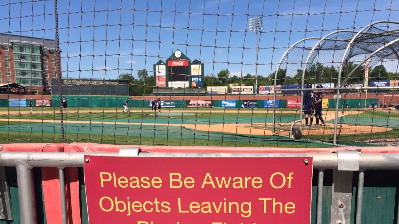 Manchester Fisher Cats fans are reacting after a woman was hit in the head with a broken bat during a Boston Red Sox game Friday.