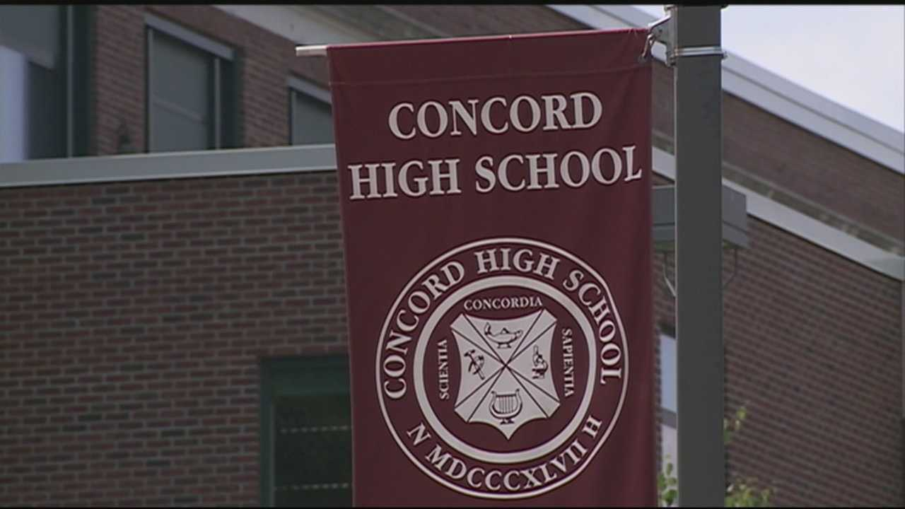 A Concord High School student faces disciplinary action after school administrators say he altered the senior class T-shirt to include offensive messages