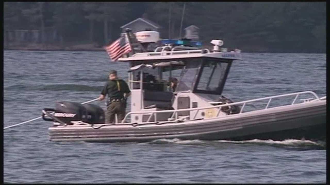 A missing person search was underway Saturday afternoon after a boat was found going in circles on Lake Winnipesaukee with no one on board.