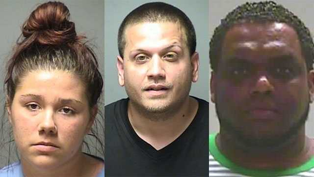 A shooting investigation led police to arrest a woman and two men, the seizure of drugs worth an estimated $2.2 million and more than $200,000 in cash in one of the biggest drug busts in New England's history last week.