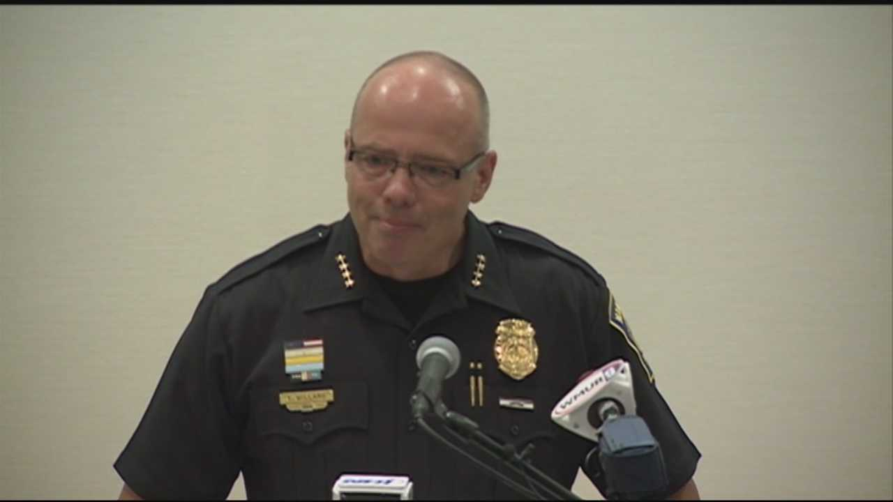 The new chief of the Manchester Police Department was sworn in Monday.