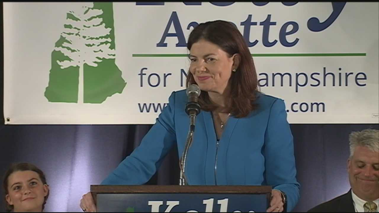 Senator Kelly Ayotte is seeking a second term in Washington and launched her re-election bid at The Alpine Club in Manchester.