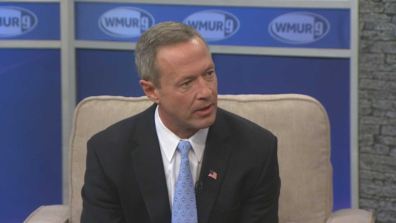 Democratic presidential candidate Martin O'Malley joins Josh McElveen for the Conversation with the Candidate series (Part 1).