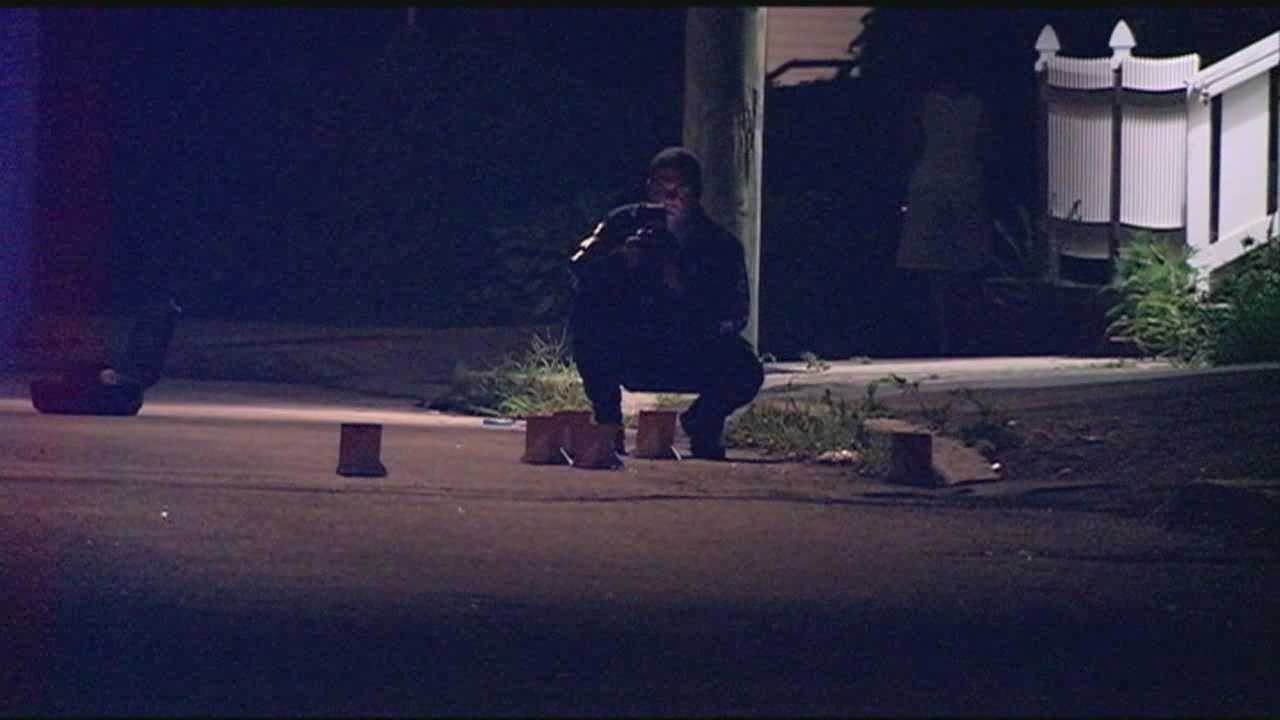 Manchester police are trying to figure out who fired several shots in an east side neighborhood Tuesday night.