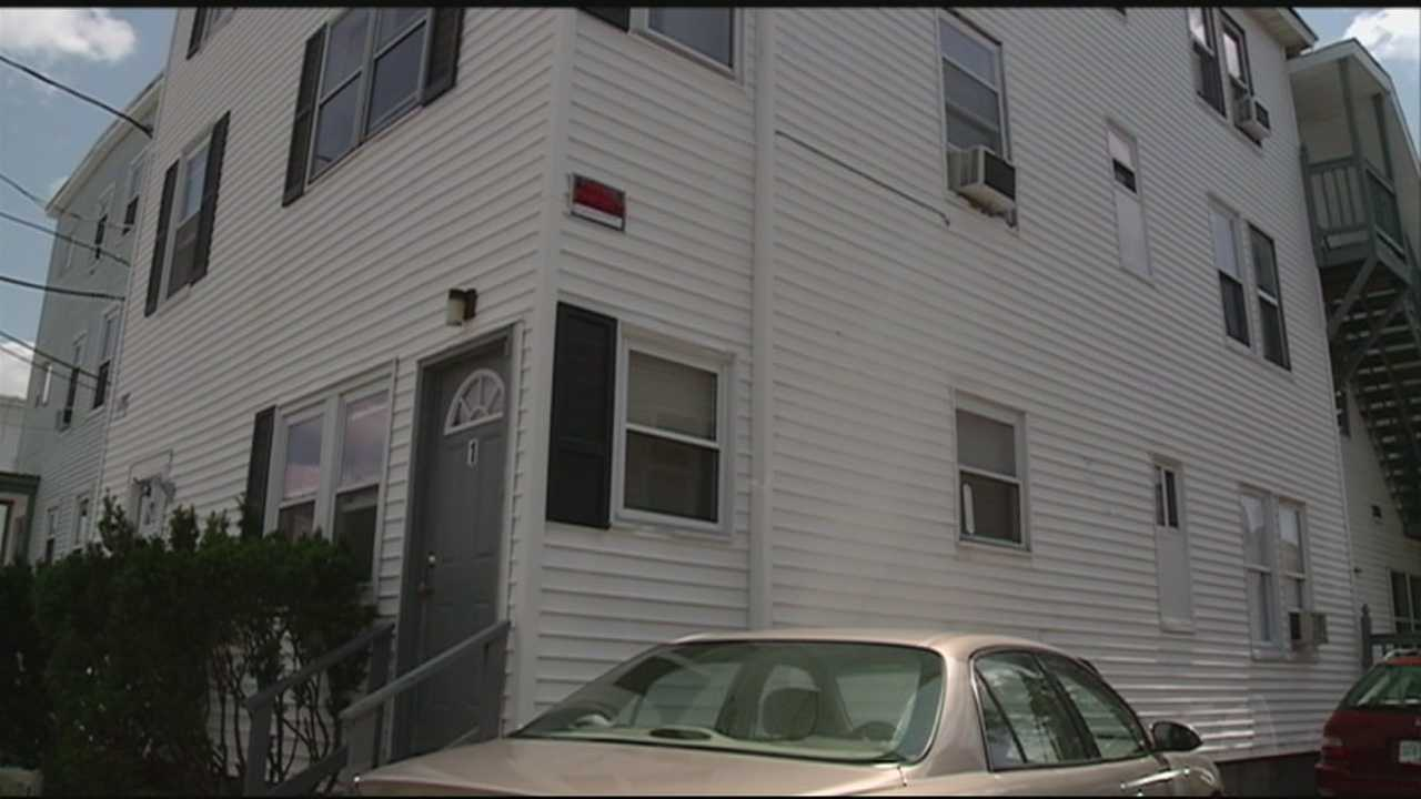 Police in Manchester said they are looking for two men after a home invasion ended with the death of the victim's dog.