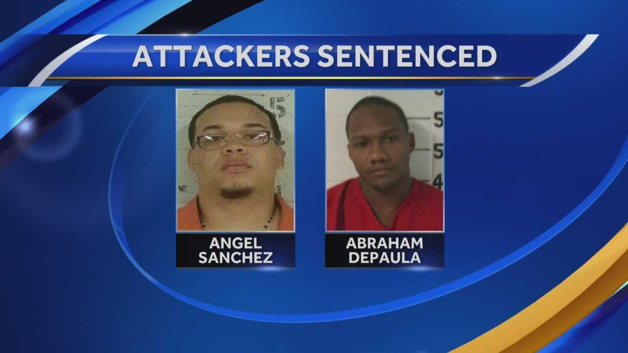 The final defendants in a violent Hampstead home invasion were sentenced to decades in prison Friday.