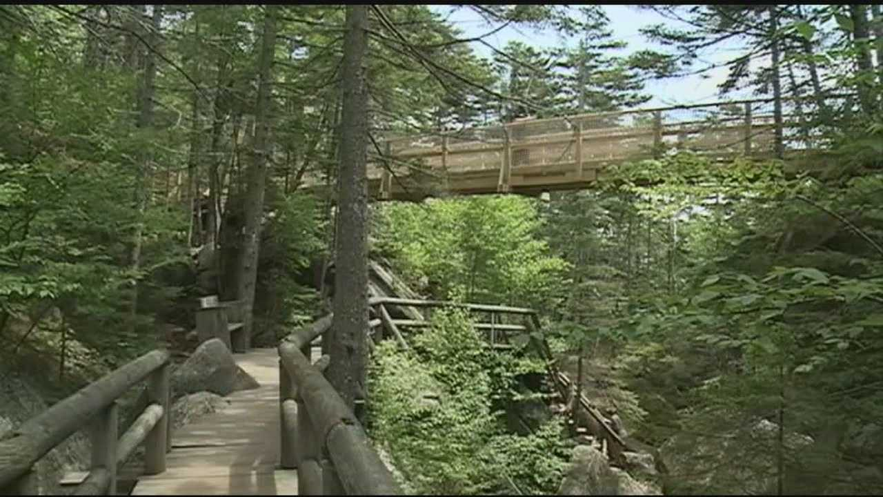 Celebrations were held Friday in the White Mountains as Gov. Maggie Hassan cut the ribbons on two expansion projects.