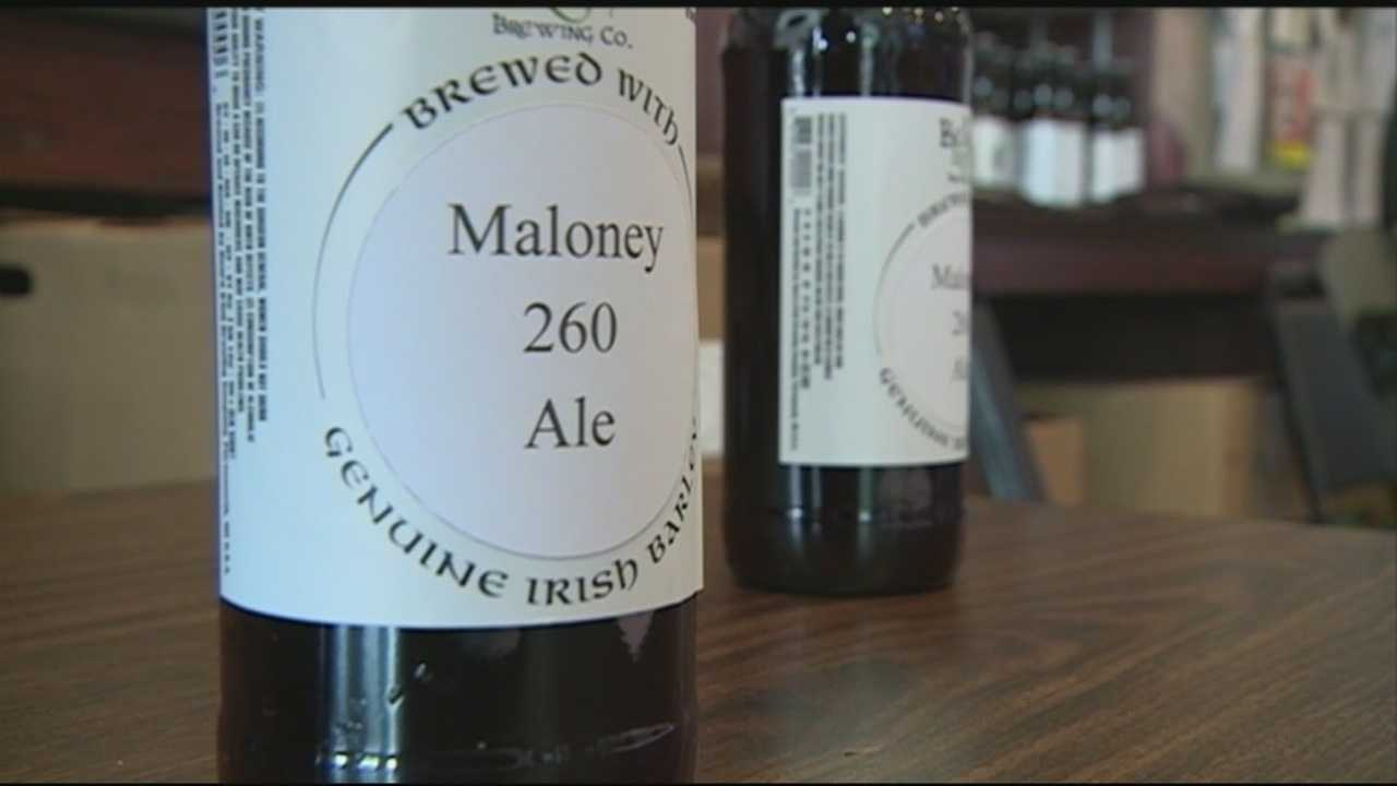 A new beer pays tribute  to Michael Maloney, a beloved Greenland police chief who was killed three years ago.