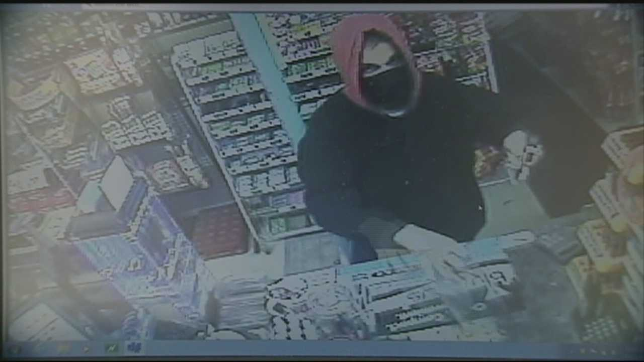 Police in Manchester are investigating two armed robberies at convenience stores over the weekend.