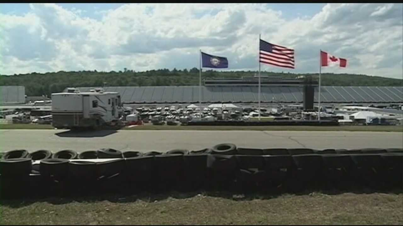 Chief Meteorologist Mike Haddad is at New Hampshire Motor Speedway in Loudon, where preparations are underway for the weekend's races.