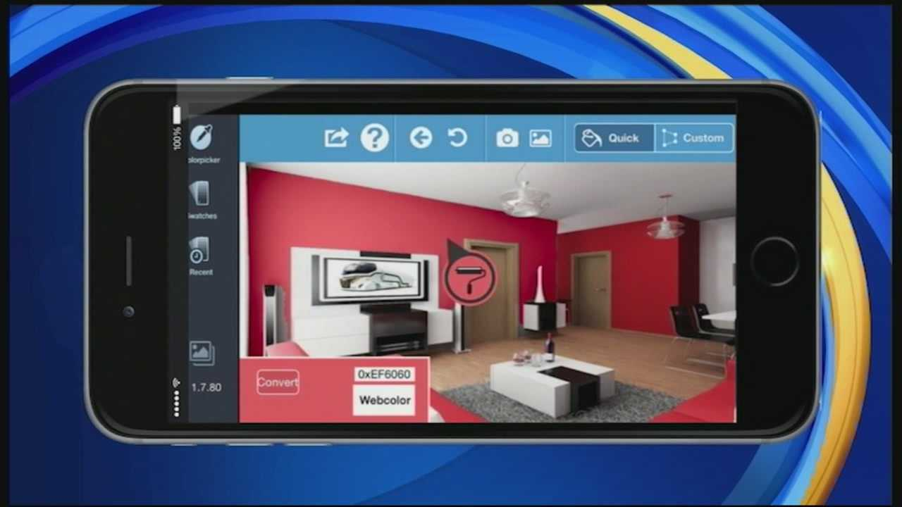 Are you doing some remodeling this summer? Or have you ever wondered what your home would look like with a different color scheme? In today's Tech Talk, we show you an app that can help take the guess-work out of picking a new paint.