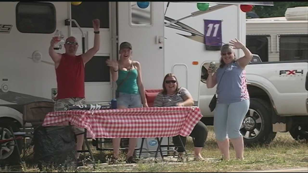 Race fans began streaming into Loudon on Friday for Race Weekend.
