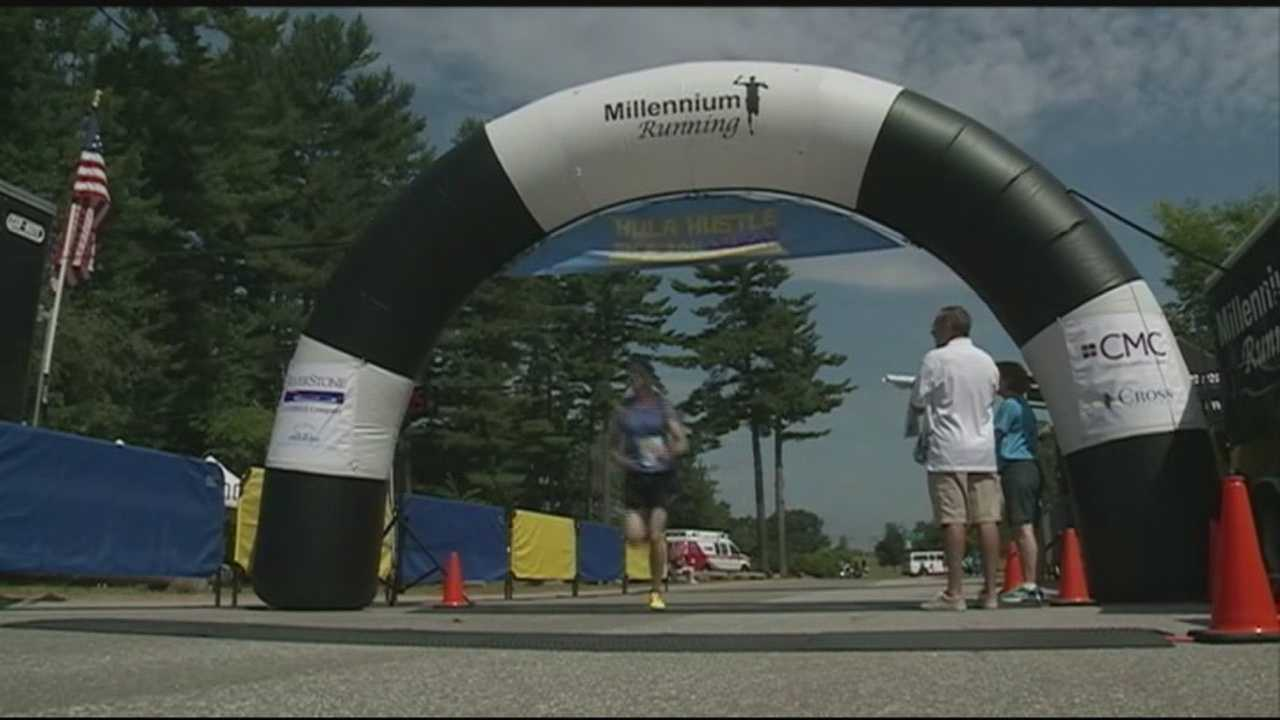Hundreds turned out for a road race Sunday to benefit New Horizons for New Hampshire.