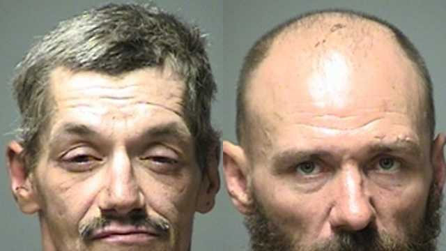 Jay Larose (left), 48, and Conrad Martel (right), 47