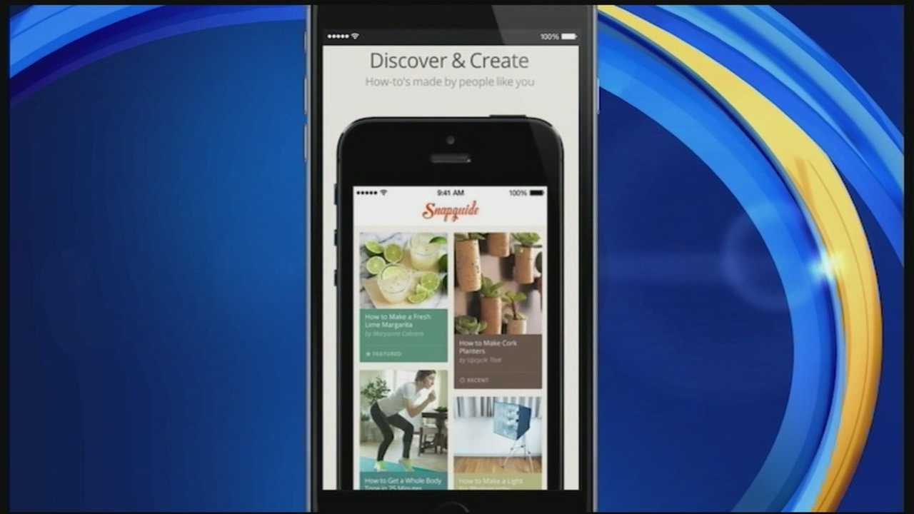 Simple do-it-yourself projects can be a great way to spruce up your home, but sometimes you need a little inspiration. In today's Tech Talk, we take a look at an app that helps you browse ideas and share your own with others.