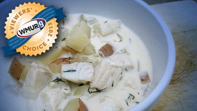 This week, we asked our viewers who serves the best chowder in the Granite State. Take a look at the top responses!