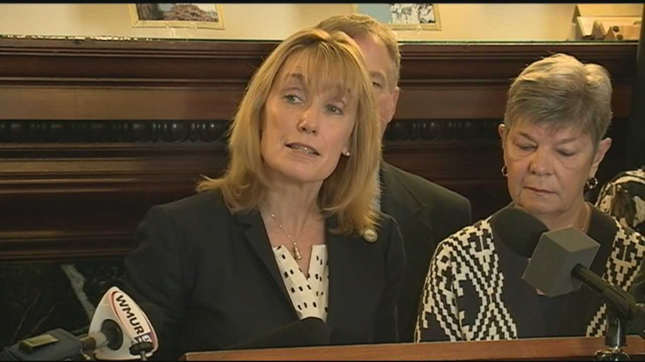 Gov. Maggie Hassan has laid out a compromise proposal to end the budget stalemate in Concord.