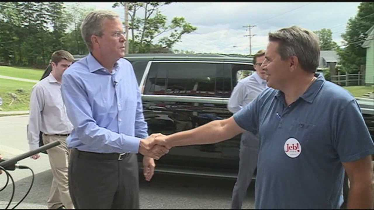 Republican presidential hopeful Jeb Bush wrapped up a two-day trip to the Granite State on Thursday.