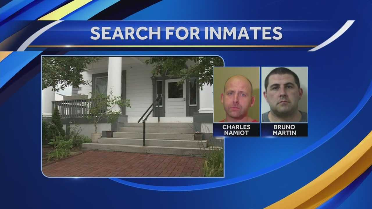 Department of Corrections spokesman says the two men who have vanished from Calumet House may face charges.