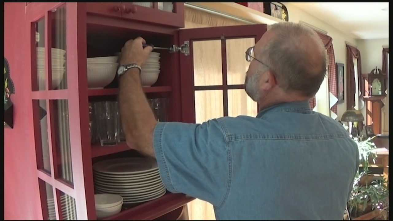 On this edition of Handyman Help, learn how to keep your cabinets and frames aligned.