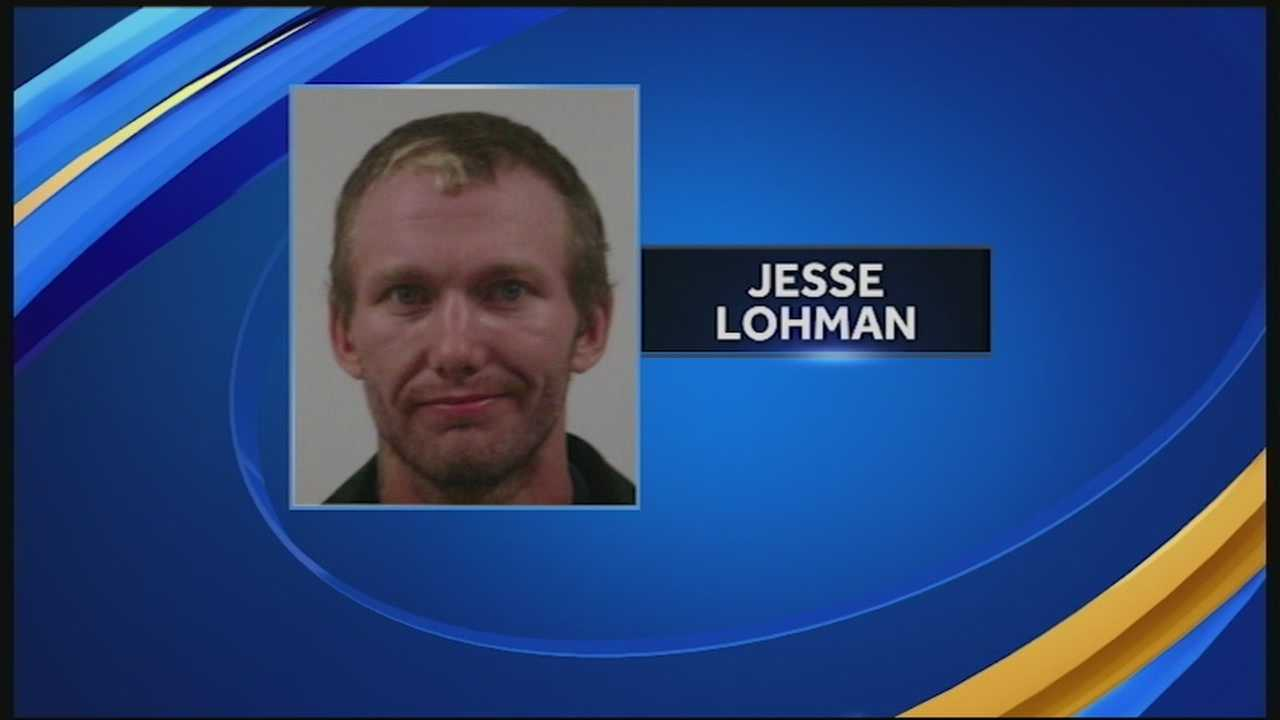 A Lempster man was arrested Sunday after he was accused of shooting through a stranger's back door in Meredith.